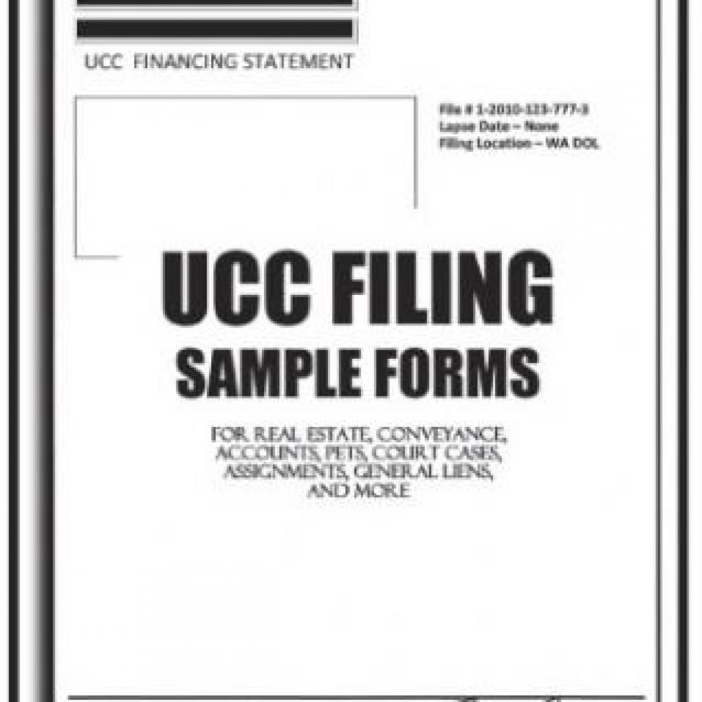 FINANCING STATEMENT SAMPLE FORMS [UCC FILING FORMS] – Americans ...